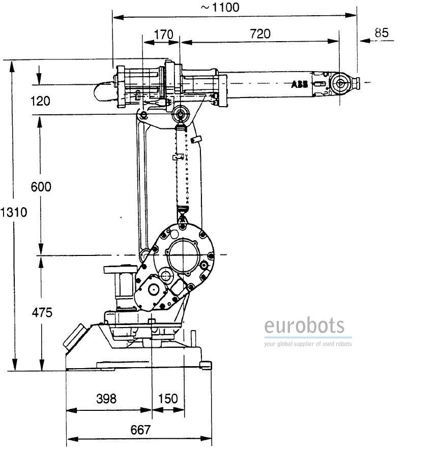 Abb Irb1400 Cellule Robotis U00e9e  U00e0 Double Flexarc M97a S4c