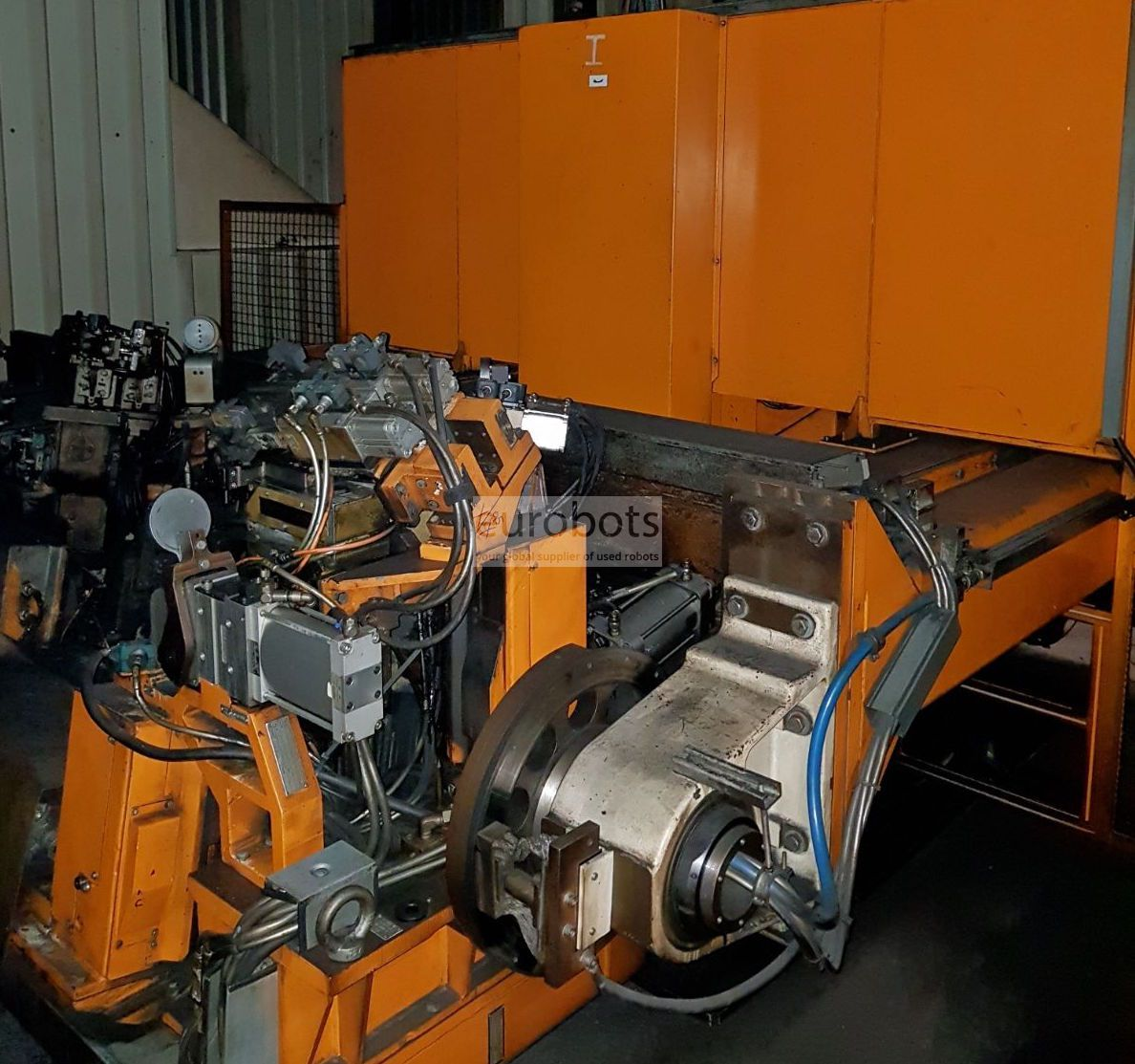 Motoman Yaskawa Twin Ea1800n Robot Occasion Syst 232 Me 224 Neuf