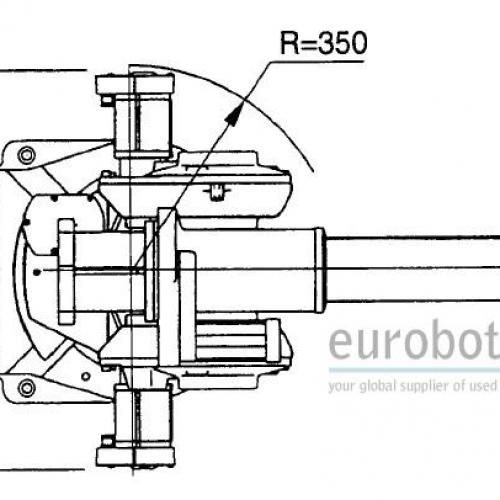 abb irb1400 cellule robotis u00e9e  u00e0 double flexarc m97a s4c avec mtb 750 irbp 750k positionneur
